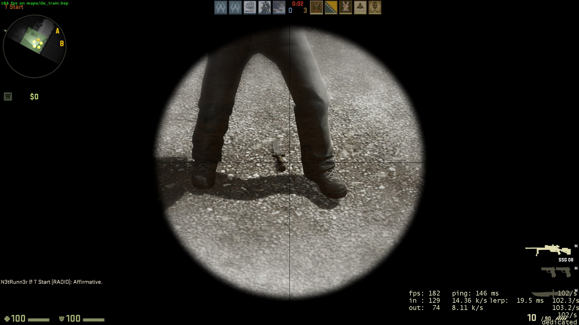how to use bot in csgo